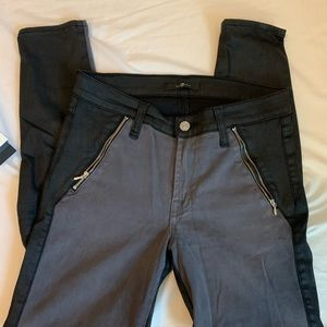 7 for all mankind The Side Zip Skinny Jeans